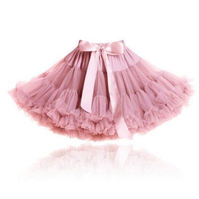 Girls-Fluffy-2-18-Years-Chiffon-Pettiskirt-Solid-Colors-tutu-skirts-girl-Dance-Skirt-Christmas-Tulle